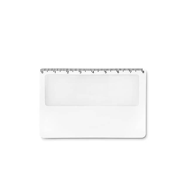 Credit card magnifier          MO9540-06 - white