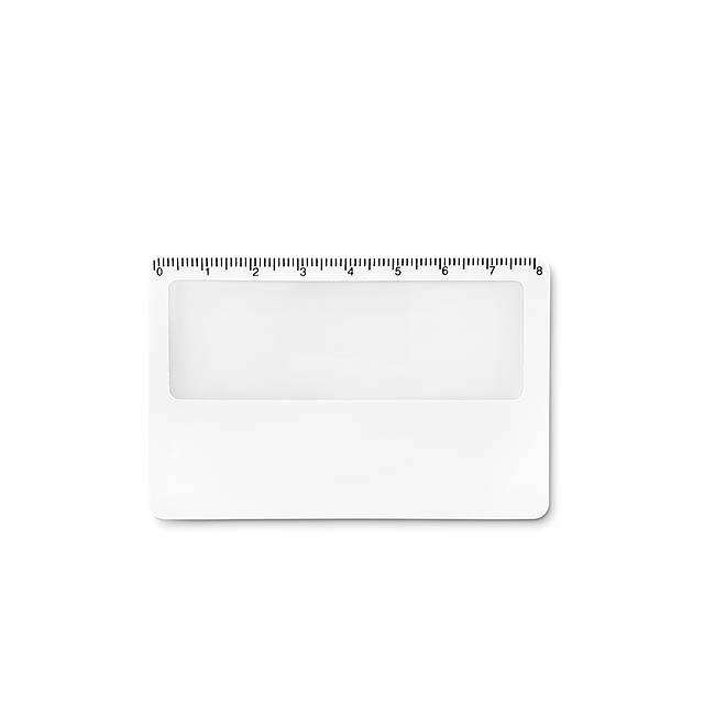 LUPA - Pouzdro na kartu               - bílá