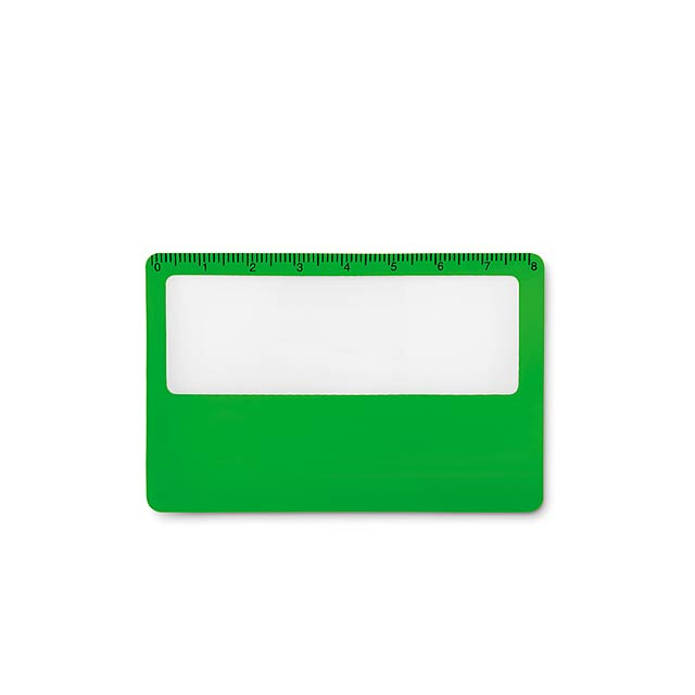 Credit card magnifier          MO9540-09 - green