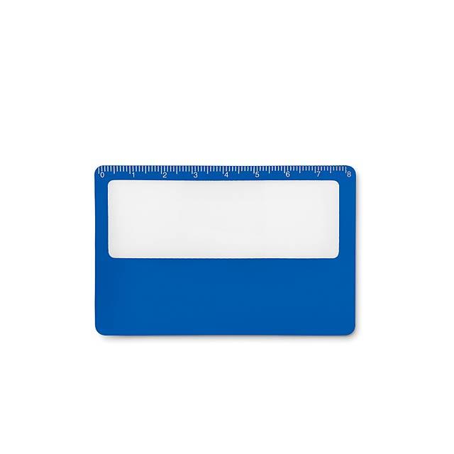 Credit card magnifier          MO9540-37 - royal blue
