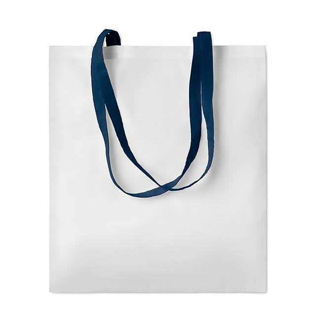 SUBLIM COTTONEL - Sublimační taška               - modrá