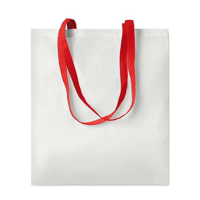 SUBLIM COTTONEL - Sublimační taška               - červená