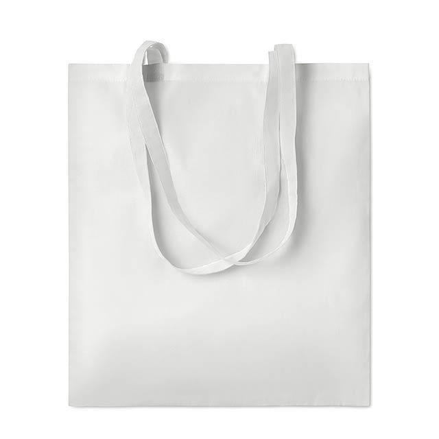SUBLIM COTTONEL - Sublimační taška               - bílá