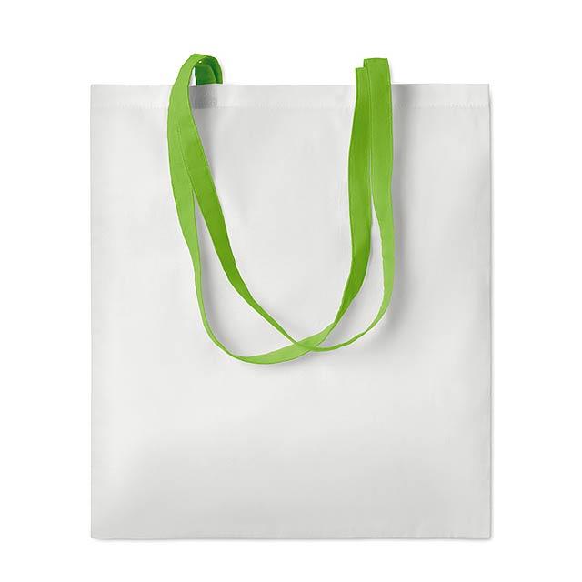 SUBLIM COTTONEL - Sublimační taška               - citrónová - limetková