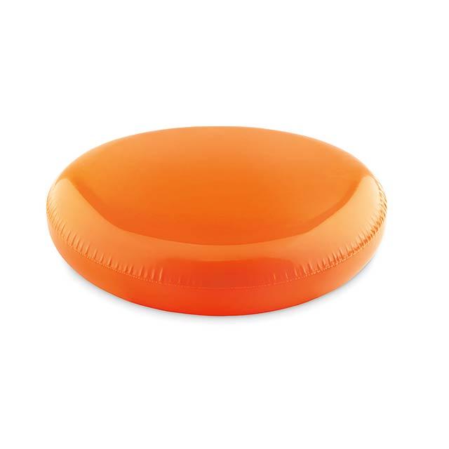 ADELAIDE - Nafukovací frisbee             - oranžová