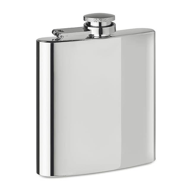 SLIMMY FLASK + - Placatka                       - stříbrná mat
