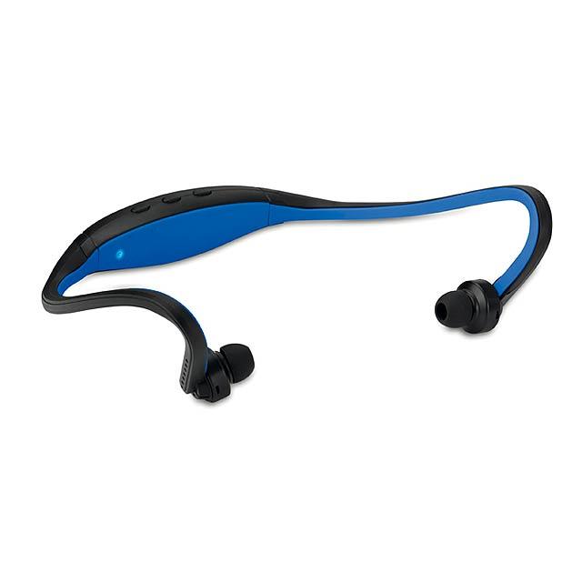 CINTAPHONE - Bluetooth sluchátka            - královsky modrá
