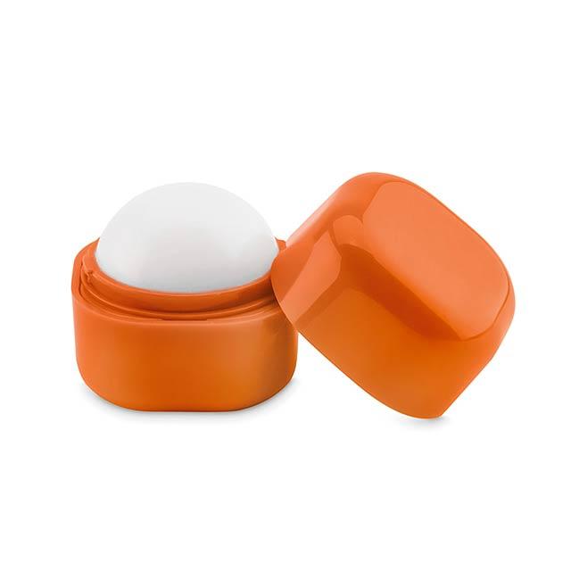 Lip balm in cube box           MO9586-10 - orange