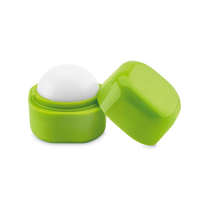 Lip balm in cube box           MO9586-48 - lime