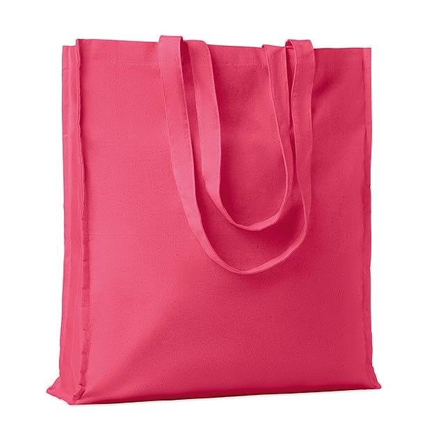 PORTOBELLO - Nákupní taška                  - fuchsiová (tm. růžová)