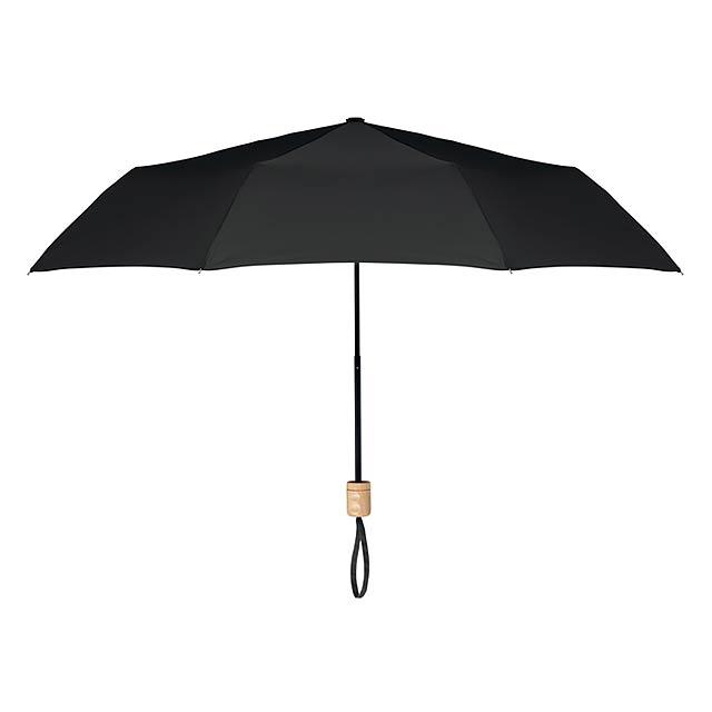 TRALEE - Skládací deštník               - černá