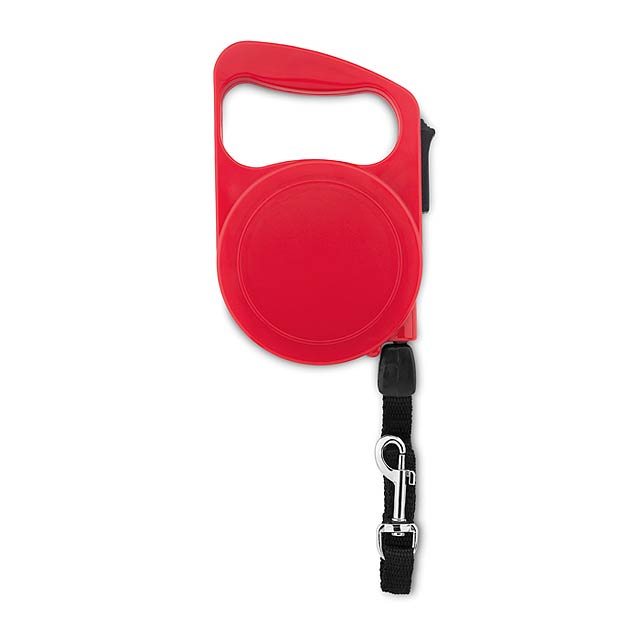 Extending dog leash            MO9615-05 - red