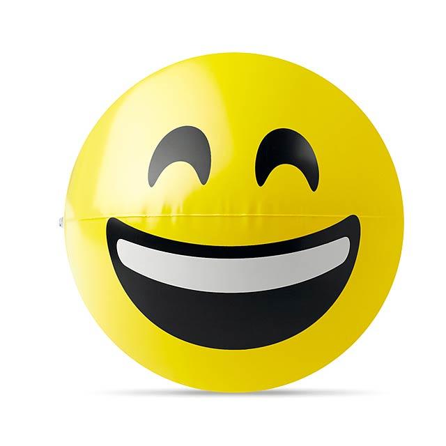 SMILY - Plážový míč                    - žlutá