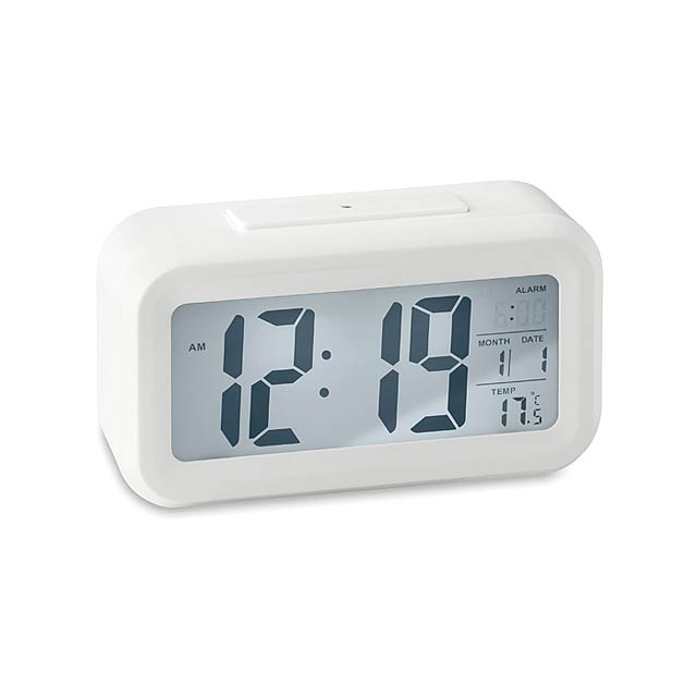 Weather station clock          MO9633-06 - white