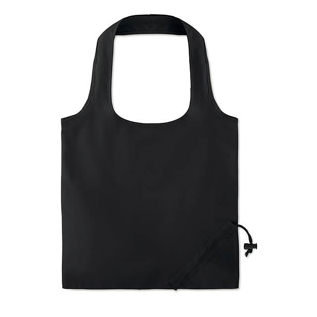 FRESA SOFT - Skládací bavlněná taška        - černá