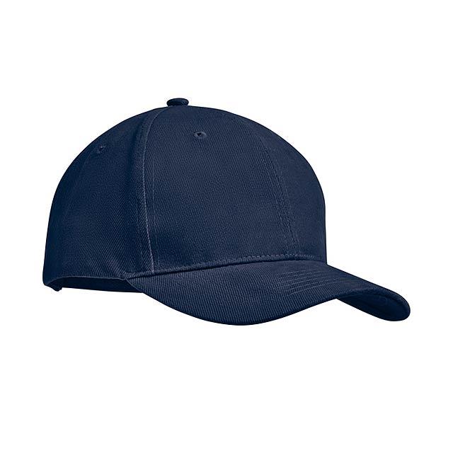 TEKAPO - Šestipanelová kšiltovka        - modrá