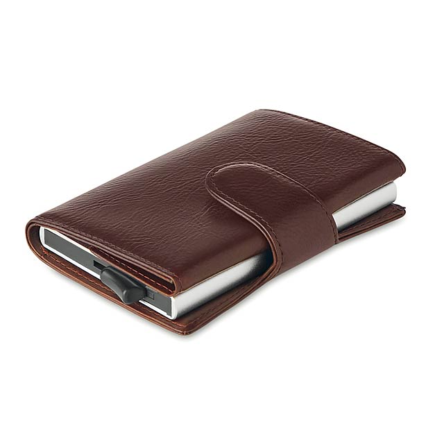 KENDAL - Peněženka s RFID ochranou      - hnědá