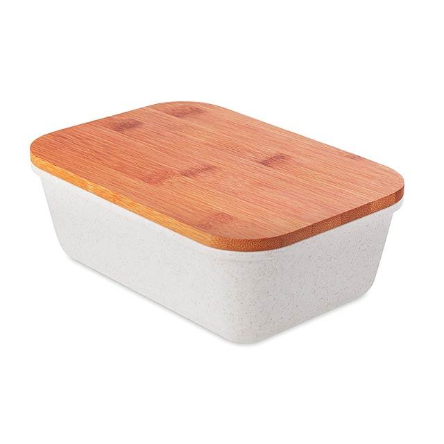 FANCY LUNCH - Eko obědová krabička           - béžová