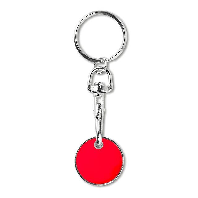 TOKENRING - Přívěsek se žetonem            - červená