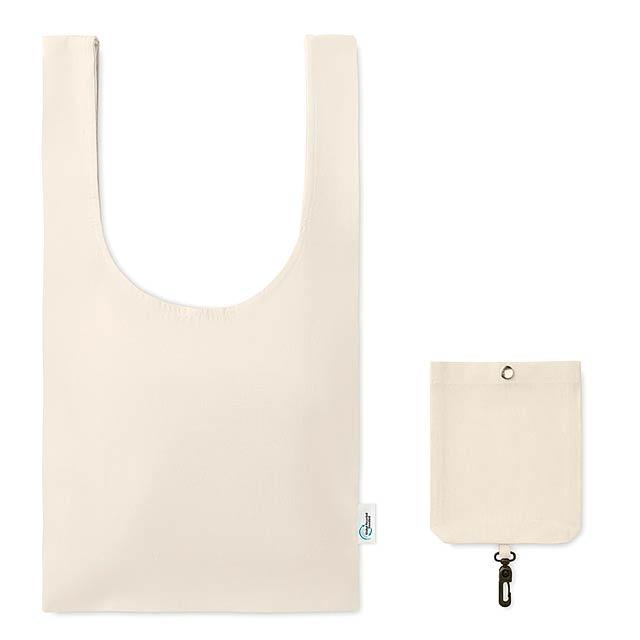 FOLD-IT-UP - Velká skládací nákupní taška   - béžová