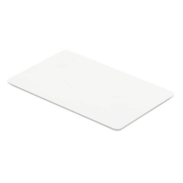 CUSTOS - RFID Anti-skimming karta       - bílá
