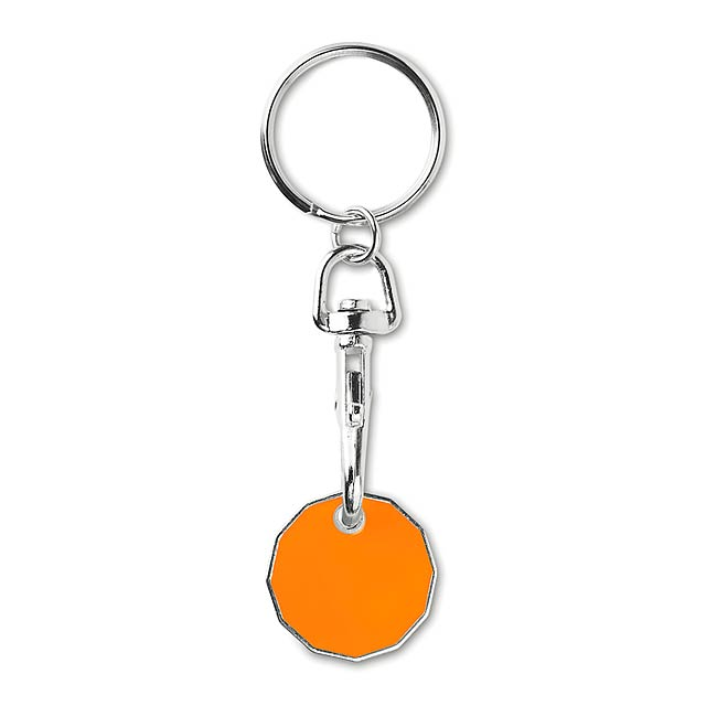 TOKENRING - Přívěsek se žetonem            - oranžová