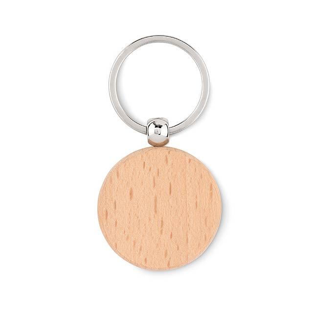 TOTY WOOD - Dřevěný přívěsek kulatý  - dřevo