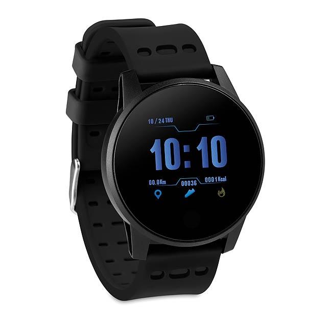 TRAIN WATCH - Sportovní chytré hodinky  - černá