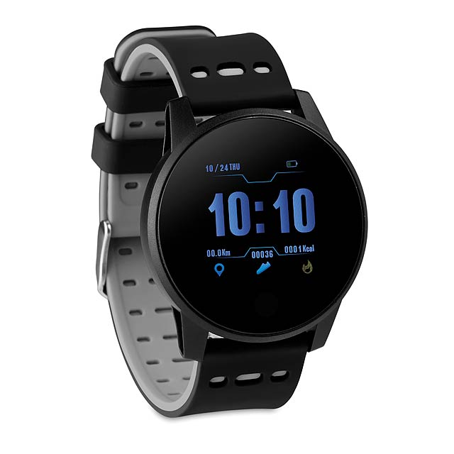 TRAIN WATCH - Sportovní chytré hodinky  - šedá