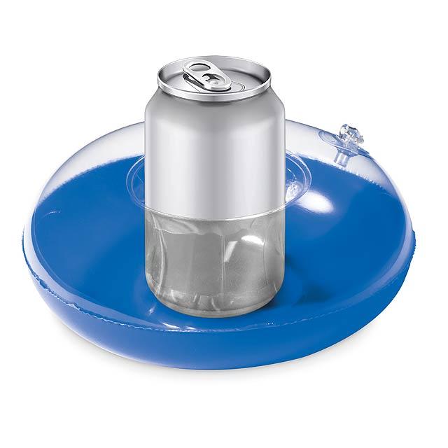 CANNY - Nafukovací držák plechovek  - modrá