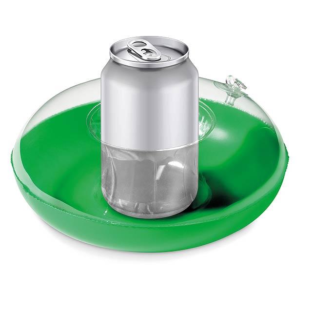 CANNY - Nafukovací držák plechovek  - zelená