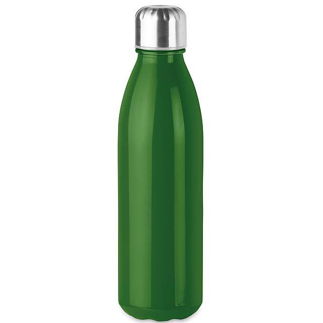 ASPEN GLASS - Skleněná láhev na pití, 650ml  - zelená