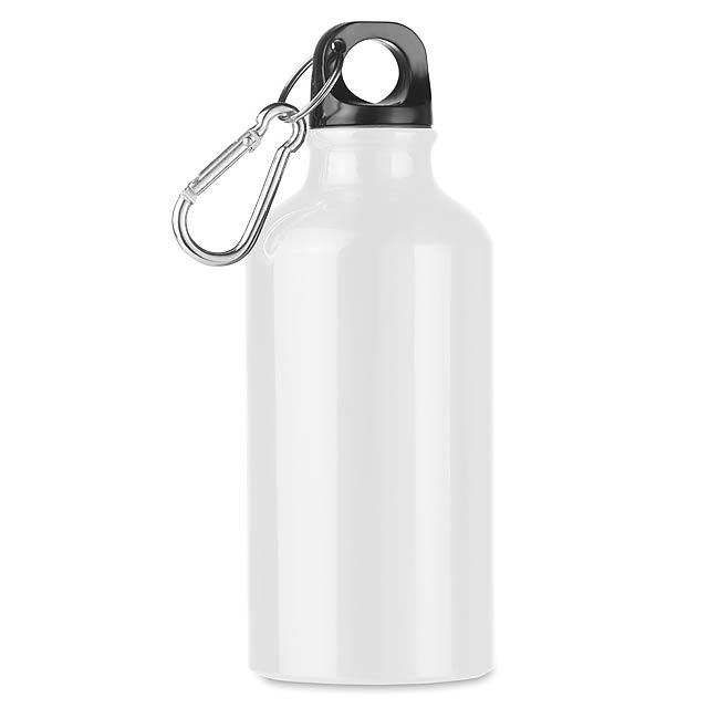 MID MOSS - Hliníková 400ml láhev  - bílá