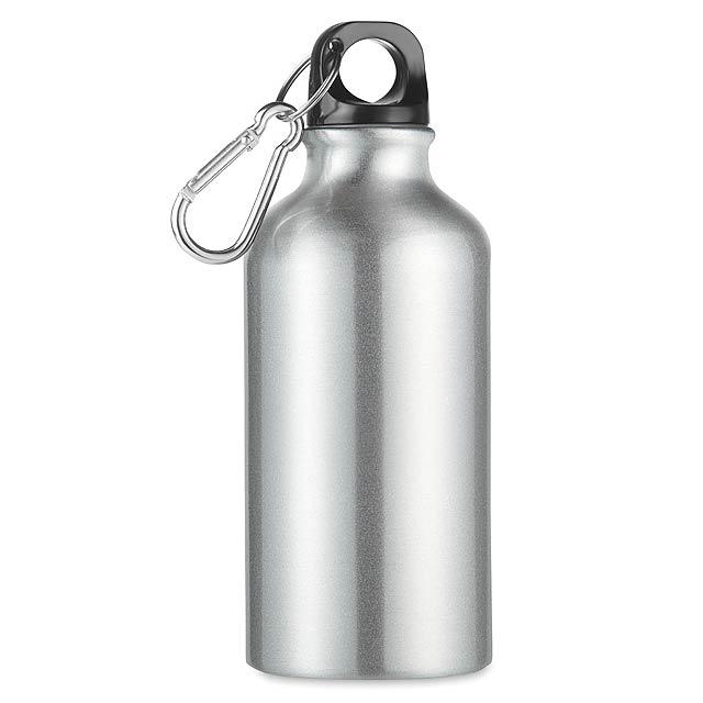 MID MOSS - Hliníková 400ml láhev  - stříbrná mat