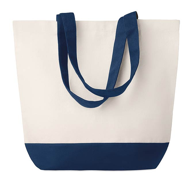 KLEUREN BAG - Plátěná plážová taška  - modrá