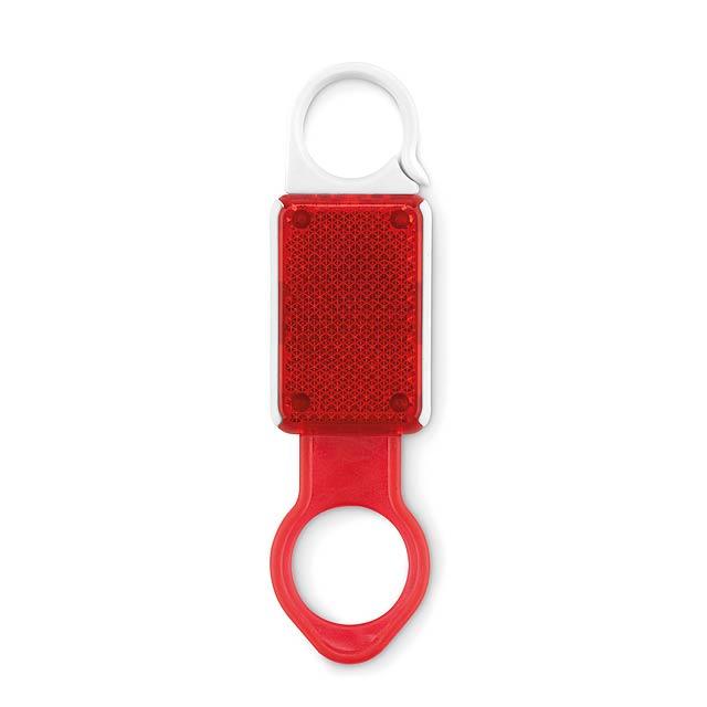 ALDRINK - Držák lahve s odrazkou  - červená