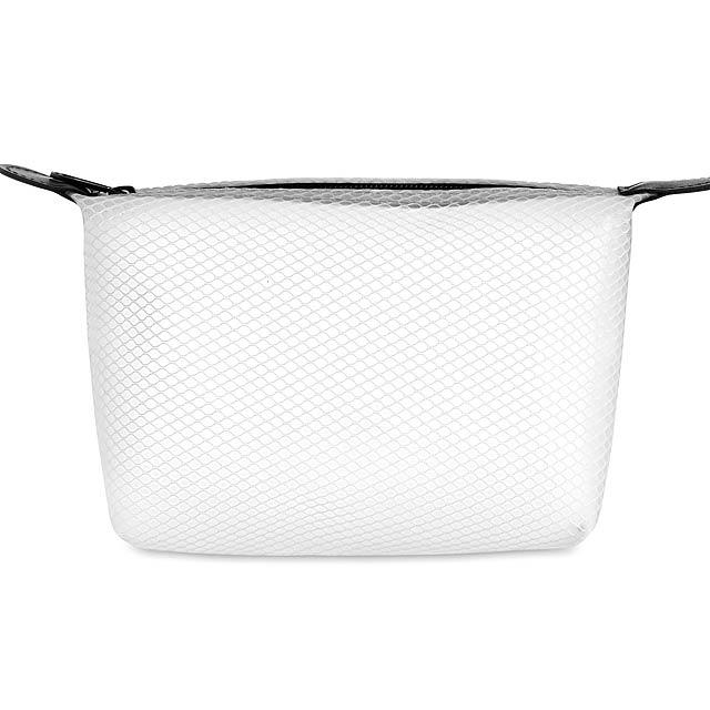 BALI BAG - Toaletní taštička  - transparentní bílá