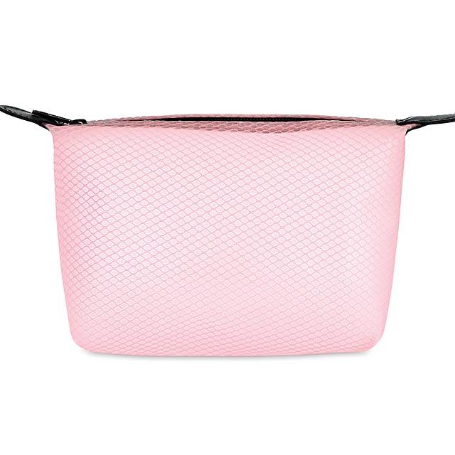 BALI BAG - Toaletní taštička  - transparentní růžová