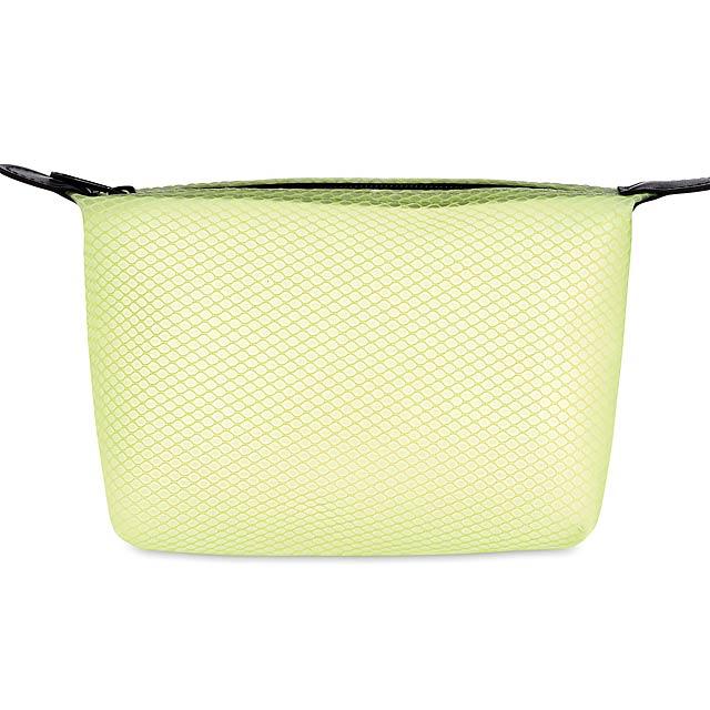 BALI BAG - Toaletní taštička  - transparentní citrónová