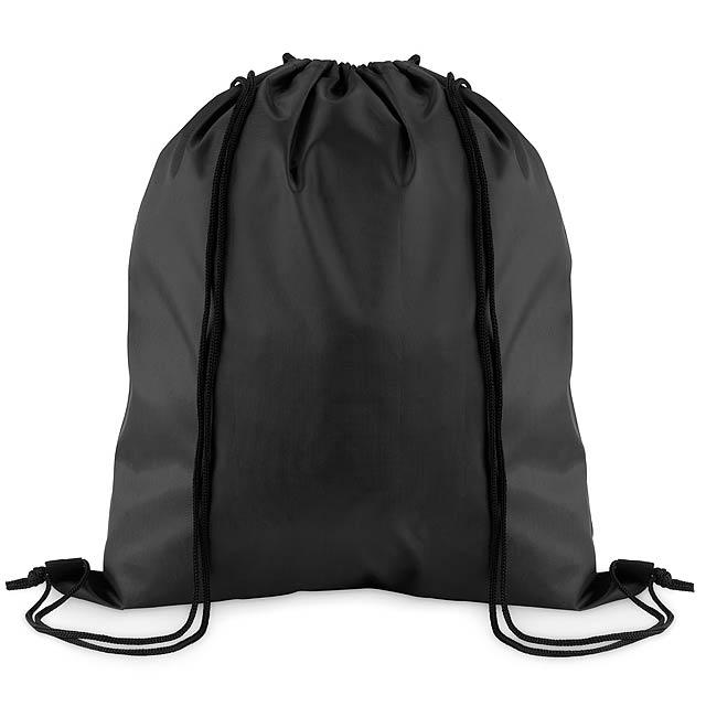 SIMPLE SHOOP - Stahovací batoh z polyesteru  - černá