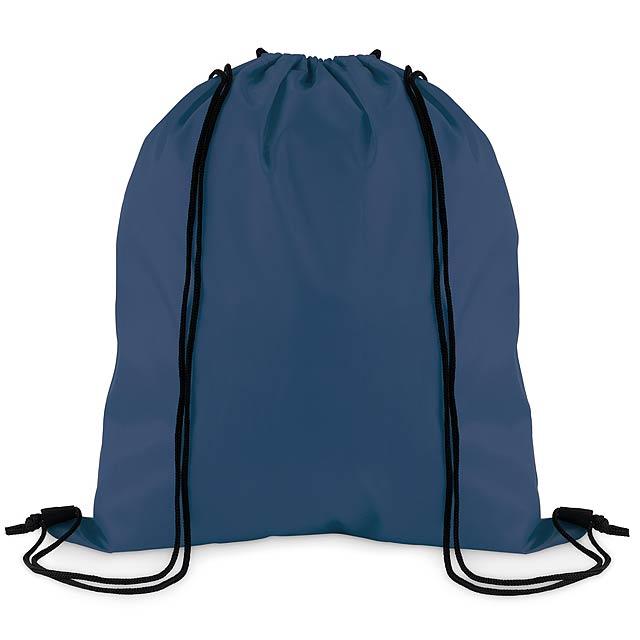 SIMPLE SHOOP - Stahovací batoh z polyesteru  - modrá