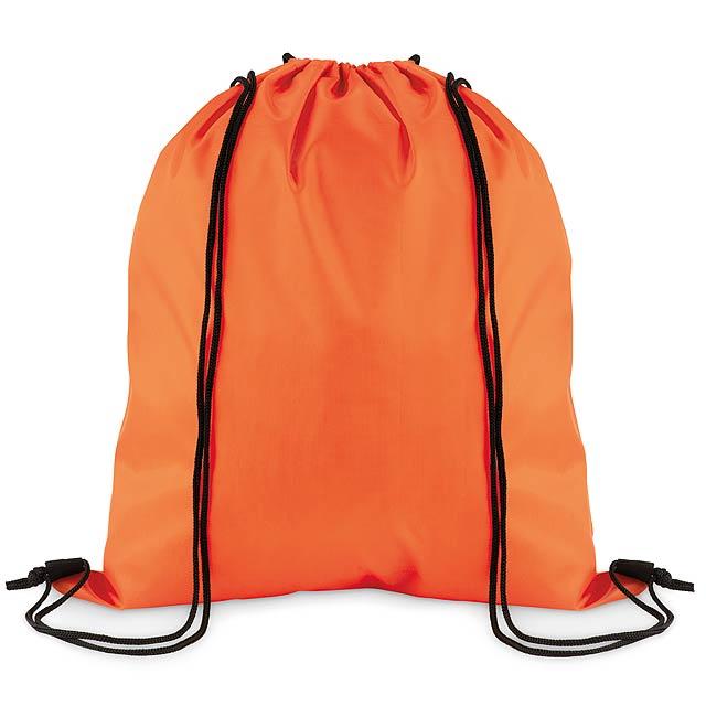 SIMPLE SHOOP - Stahovací batoh z polyesteru  - oranžová