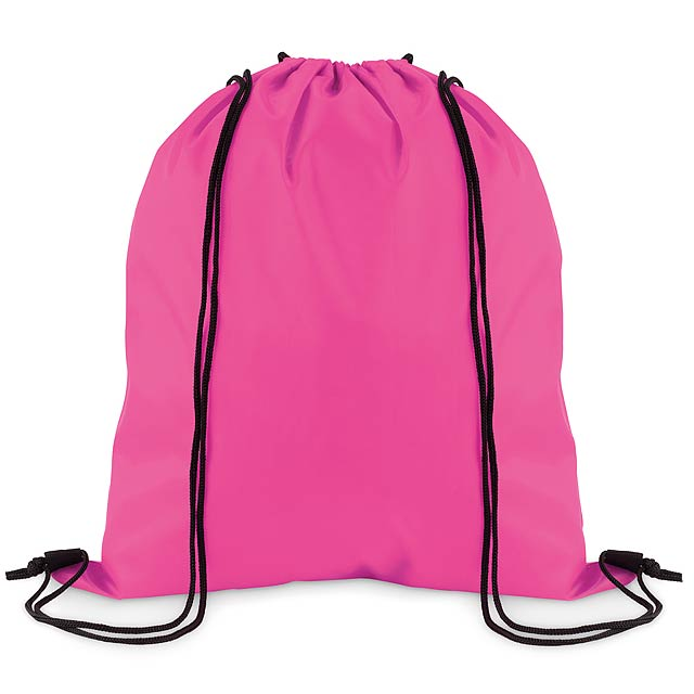 SIMPLE SHOOP - Stahovací batoh z polyesteru  - fuchsiová (tm. růžová)