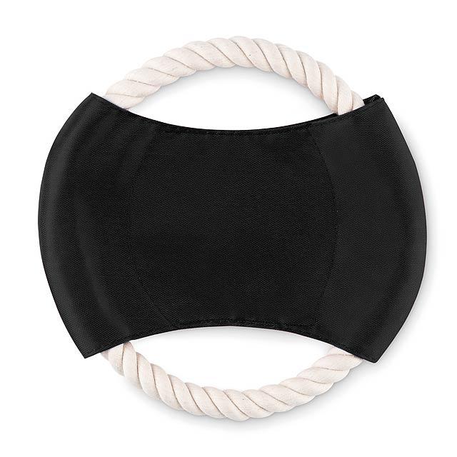 Dog frisbee  - black