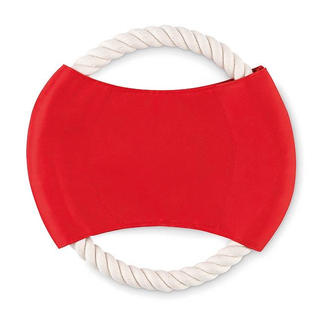 DOGBEE - Frisbee pro psy  - červená