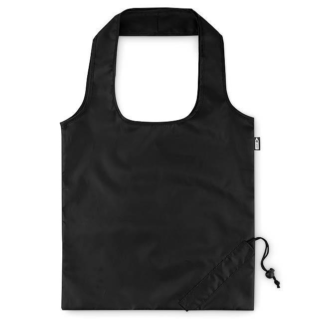 FOLDPET - Skládací RPET taška  - černá