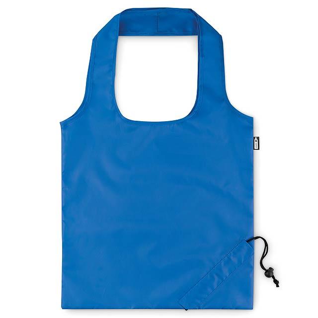 FOLDPET - Skládací RPET taška  - modrá