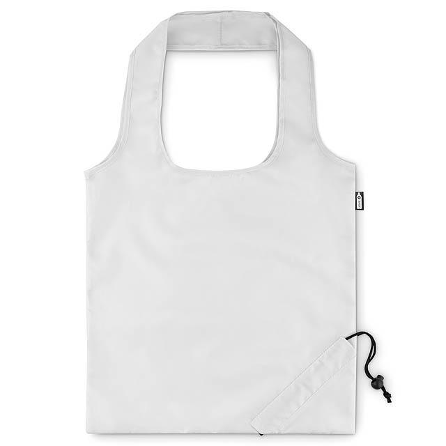 FOLDPET - Skládací RPET taška  - bílá