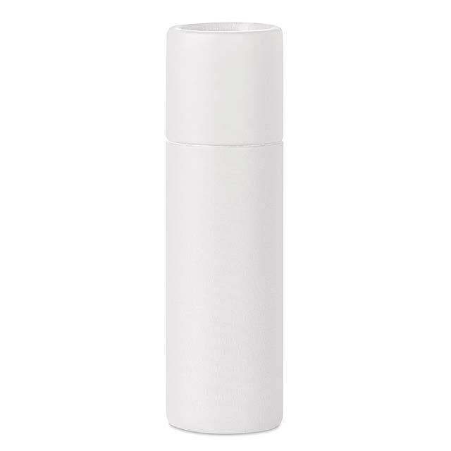 PAPER GLOSS - Lůj na rty v kartonovém obale  - bílá