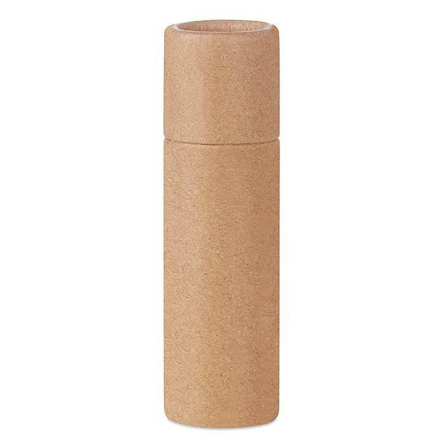 PAPER GLOSS - Lůj na rty v kartonovém obale  - béžová